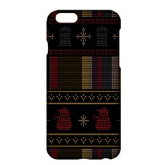 Tardis Doctor Who Ugly Holiday Apple iPhone 6 Plus/6S Plus Hardshell Case
