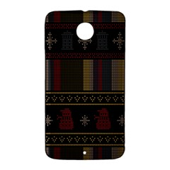 Tardis Doctor Who Ugly Holiday Nexus 6 Case (White)