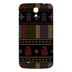 Tardis Doctor Who Ugly Holiday Samsung Galaxy Mega I9200 Hardshell Back Case Front
