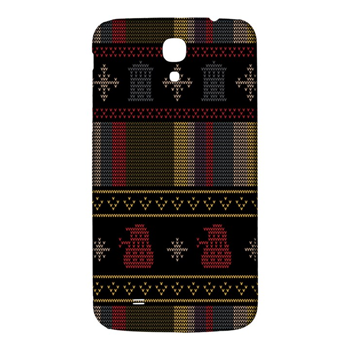Tardis Doctor Who Ugly Holiday Samsung Galaxy Mega I9200 Hardshell Back Case