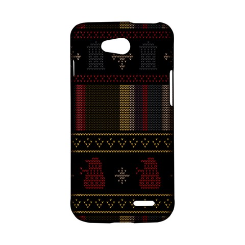 Tardis Doctor Who Ugly Holiday LG L90 D410