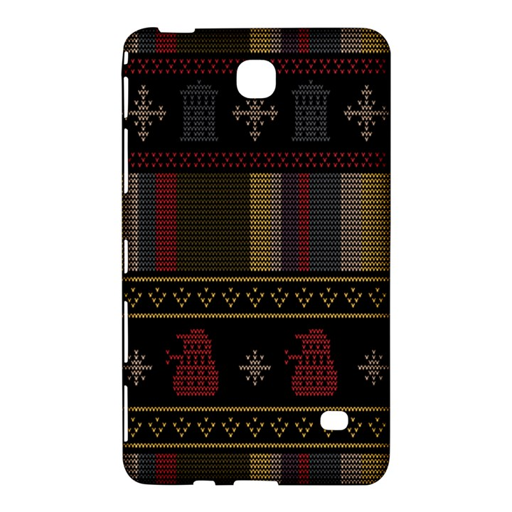 Tardis Doctor Who Ugly Holiday Samsung Galaxy Tab 4 (7 ) Hardshell Case