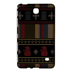 Tardis Doctor Who Ugly Holiday Samsung Galaxy Tab 4 (8 ) Hardshell Case
