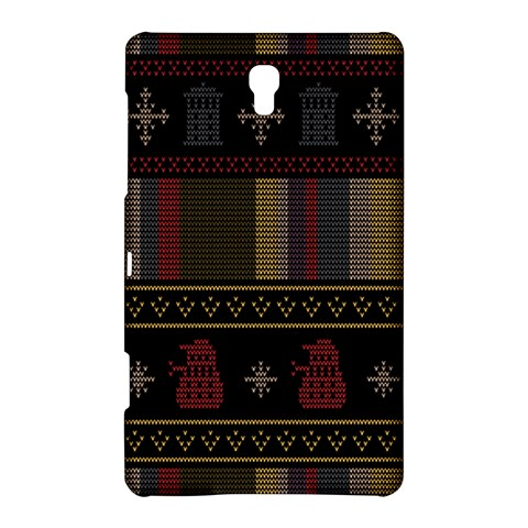 Tardis Doctor Who Ugly Holiday Samsung Galaxy Tab S (8.4 ) Hardshell Case
