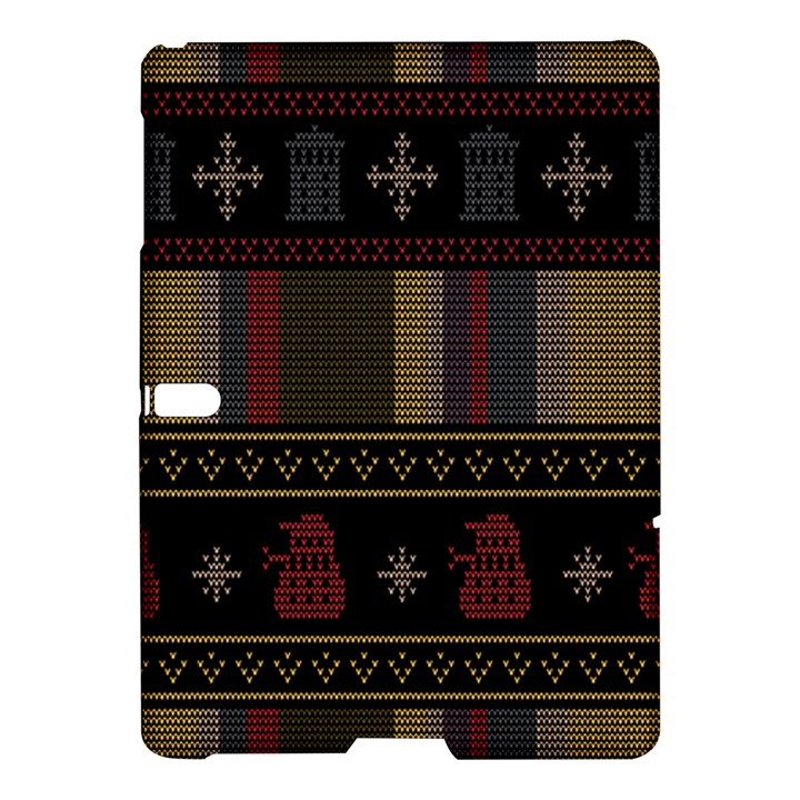 Tardis Doctor Who Ugly Holiday Samsung Galaxy Tab S (10.5 ) Hardshell Case