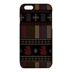 Tardis Doctor Who Ugly Holiday iPhone 6/6S TPU Case