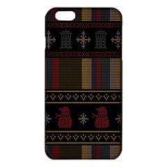 Tardis Doctor Who Ugly Holiday iPhone 6 Plus/6S Plus TPU Case
