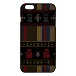 Tardis Doctor Who Ugly Holiday iPhone 6 Plus/6S Plus TPU Case Front