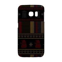 Tardis Doctor Who Ugly Holiday Galaxy S6 Edge