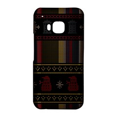 Tardis Doctor Who Ugly Holiday HTC One M9 Hardshell Case