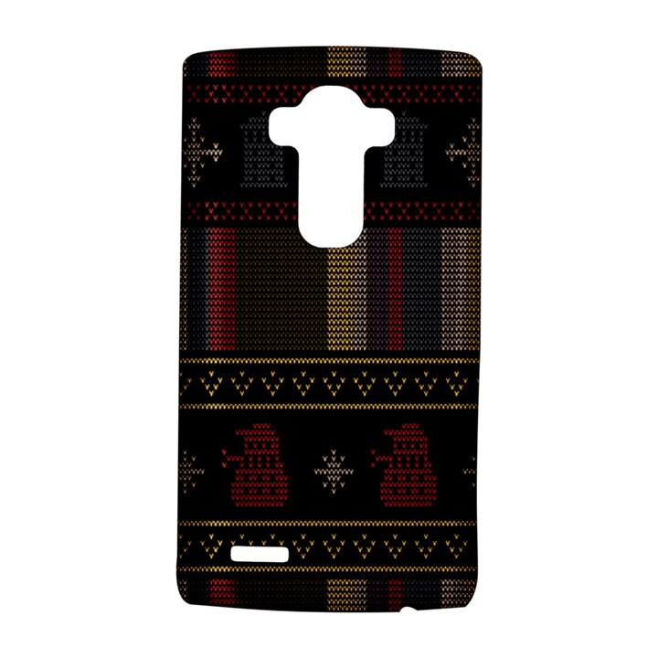 Tardis Doctor Who Ugly Holiday LG G4 Hardshell Case