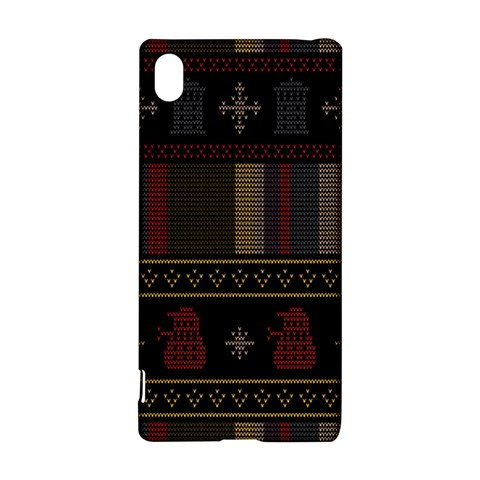 Tardis Doctor Who Ugly Holiday Sony Xperia Z3+