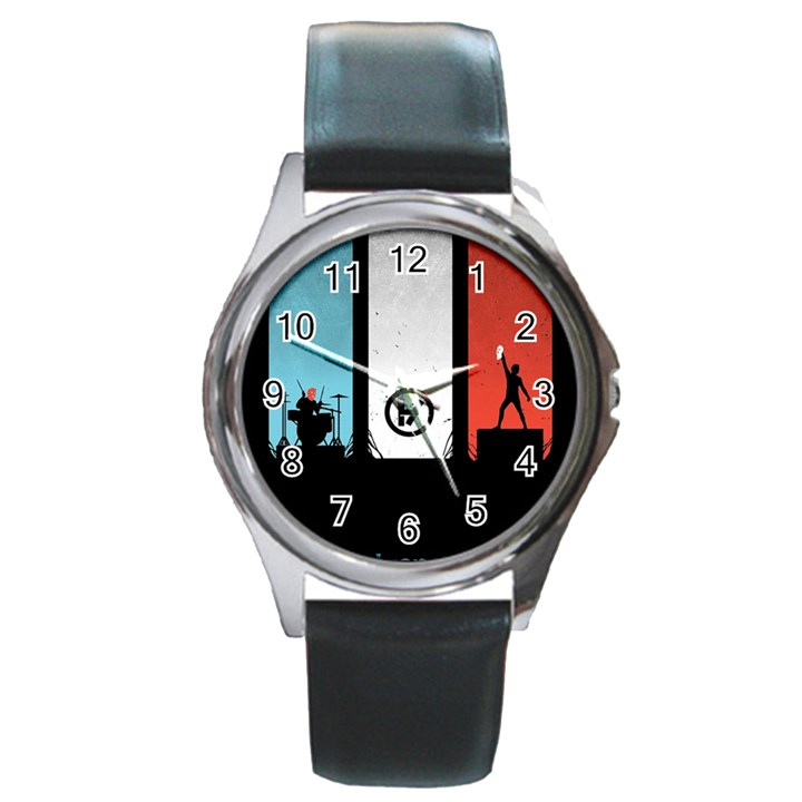 Twenty One 21 Pilots Round Metal Watch