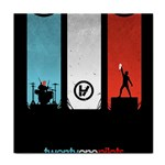 Twenty One 21 Pilots Tile Coasters Front