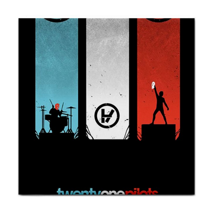 Twenty One 21 Pilots Tile Coasters