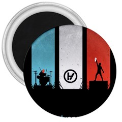 Twenty One 21 Pilots 3  Magnets