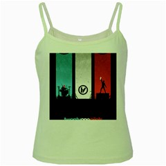 Twenty One 21 Pilots Green Spaghetti Tank