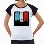 Twenty One 21 Pilots Women s Cap Sleeve T Front