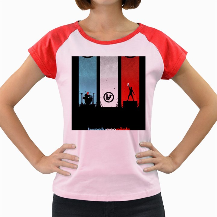 Twenty One 21 Pilots Women s Cap Sleeve T-Shirt