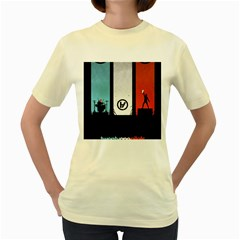 Twenty One 21 Pilots Women s Yellow T Shirt