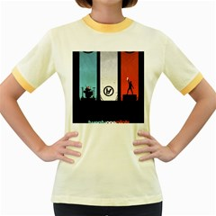 Twenty One 21 Pilots Women s Fitted Ringer T Shirts