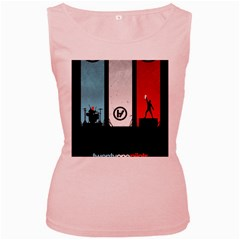 Twenty One 21 Pilots Women s Pink Tank Top