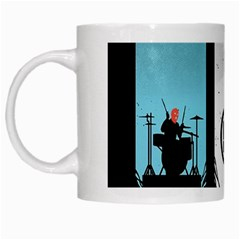 Twenty One 21 Pilots White Mugs