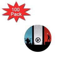 Twenty One 21 Pilots 1  Mini Buttons (100 pack)