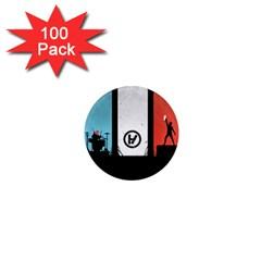 Twenty One 21 Pilots 1  Mini Magnets (100 pack)