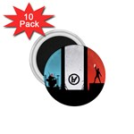Twenty One 21 Pilots 1.75  Magnets (10 pack)  Front
