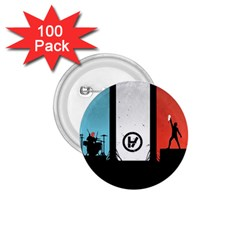 Twenty One 21 Pilots 1 75  Buttons (100 Pack)