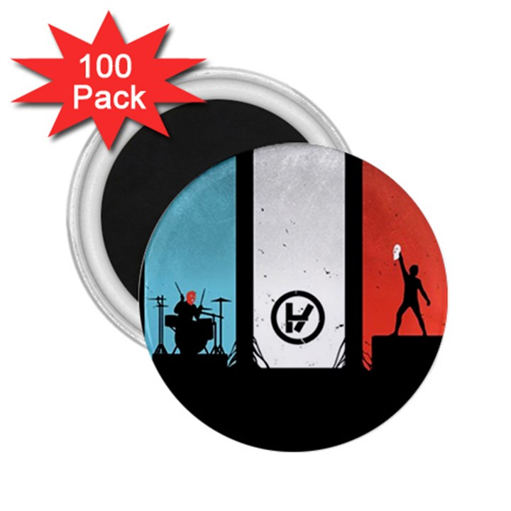 Twenty One 21 Pilots 2.25  Magnets (100 pack)