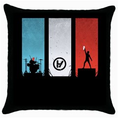Twenty One 21 Pilots Throw Pillow Case (black)