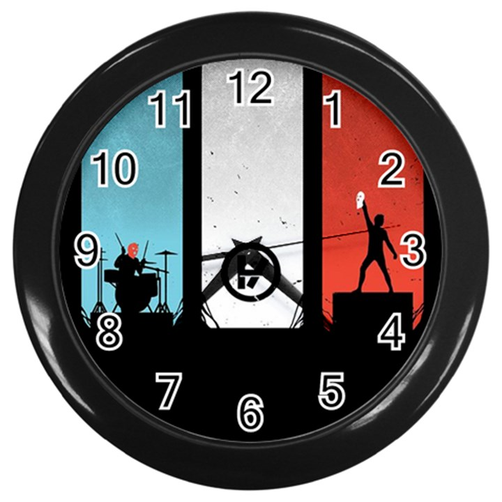 Twenty One 21 Pilots Wall Clocks (Black)