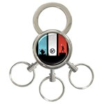 Twenty One 21 Pilots 3-Ring Key Chains Front