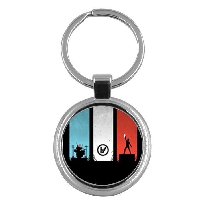 Twenty One 21 Pilots Key Chains (Round)