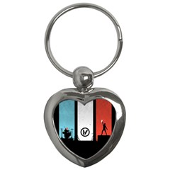 Twenty One 21 Pilots Key Chains (Heart)