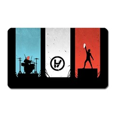 Twenty One 21 Pilots Magnet (Rectangular)