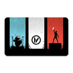 Twenty One 21 Pilots Magnet (Rectangular) Front