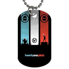 Twenty One 21 Pilots Dog Tag (One Side)