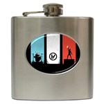 Twenty One 21 Pilots Hip Flask (6 oz) Front