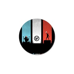 Twenty One 21 Pilots Golf Ball Marker