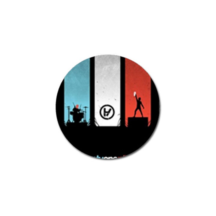 Twenty One 21 Pilots Golf Ball Marker (4 pack)