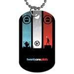 Twenty One 21 Pilots Dog Tag (Two Sides) Back