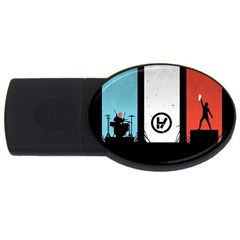 Twenty One 21 Pilots USB Flash Drive Oval (2 GB)