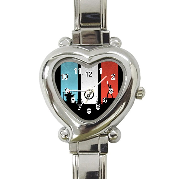 Twenty One 21 Pilots Heart Italian Charm Watch