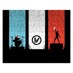 Twenty One 21 Pilots Rectangular Jigsaw Puzzl