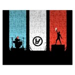 Twenty One 21 Pilots Rectangular Jigsaw Puzzl Front