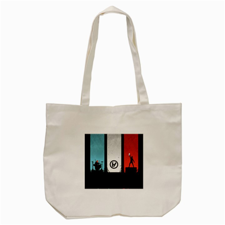 Twenty One 21 Pilots Tote Bag (Cream)