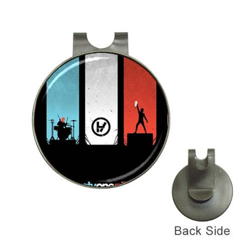 Twenty One 21 Pilots Hat Clips with Golf Markers